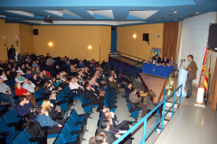 Presentación de los actos, 20/02/2013.