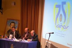 Presentación del logo del 75 Aniversario.