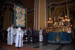 Eucaristía  de bendición del nuevo Guión del Colegio, 2/03/2013.