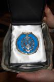 Medalla conmemorativa para la Virgen del Pilar, 9/03/2013.