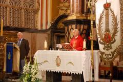 Eucaristía aniversario de la fundación de la Cofradía, 7/08/2013.