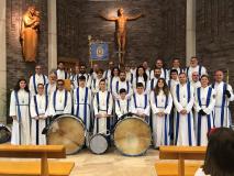 Vía Crucis en Viernes Santo.