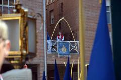 Predicación en Plaza de  San Bruno.