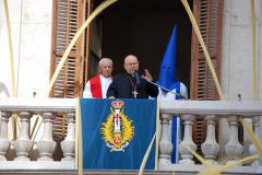 Predicación desde el Palacio Arzobispal, 2013.
