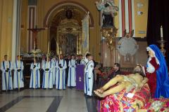 Vela ante el Santo Sepulcro, Sábado Santo.