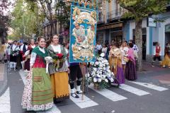 Ofrenda de flores, Fiestas del Pilar.
