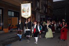 Rosario de Cristal, Fiestas del Pilar.