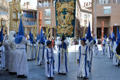 Guiones en Plaza de San Bruno. Autora: Eugenia Aragonés.