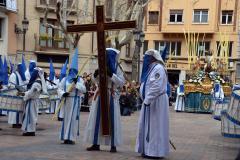 Cruz in Memoriam en Plaza de San Cayetano.