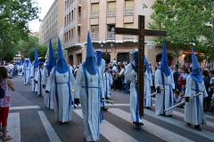 Cruz in Memoriam en Viernes Santo. Autora: Eugenia Aragonés.