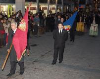 Salida extraordinaria del Cristo de la Cama, 14/02/2009.