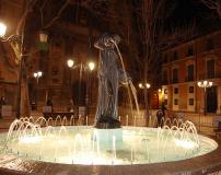 Fuente de la Samaritana en Plaza del Justicia.