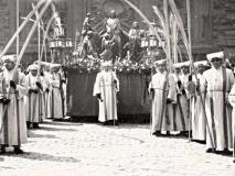 Domingo de Ramos hacia 1950.