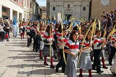 Niños del Colegio Marista, Domingo de Ramos de 2013.