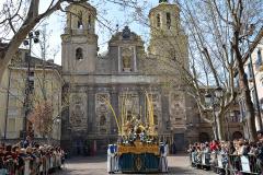 Paso titular en Plaza de San Cayetano. Autora: Eugenia Aragonés.