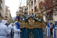 Paso titular en San Vicente de Paúl.  Autora: Eugenia Aragonés.