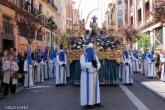 Paso titular en San Vicente de Paúl.