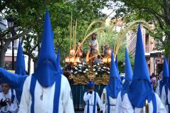 Paso titular en Viernes Santo. Autora: Eugenia Aragonés.