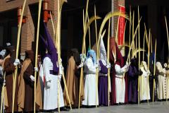 Representaciones en Domingo de Ramos.