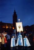 Hermanamiento con la Cofradía de la Entrada de Jesús de Jerusalén de Tarazona, 2002.