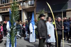 Final de Procesión en calle Alfonso I.