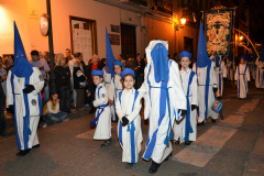Sección infantil en Viernes Santo. Autora: Eugenia Aragonés.
