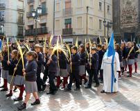 Niños del Colegio EL PIlar-Maristas.