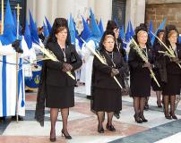 Manolas en Domingo de Ramos, 75 Aniversario.
