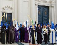 Presidencia en Domingo de Ramos, 75 Aniversario.