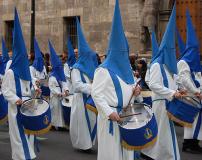 Sección de tambores, timbales y bombos, Viernes Santo.