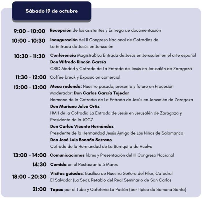sabado 19 octubre congreso